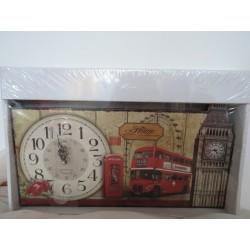 """Cutie """"Londra"""" si ceas de perete """"Londra"""""""